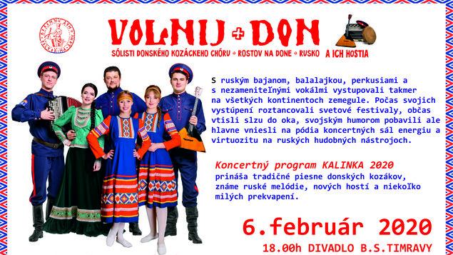 Volnij Don - koncert Donských kozákov