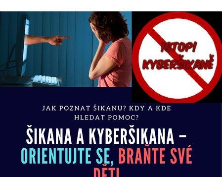 Šikana a kyberšikana - seminář