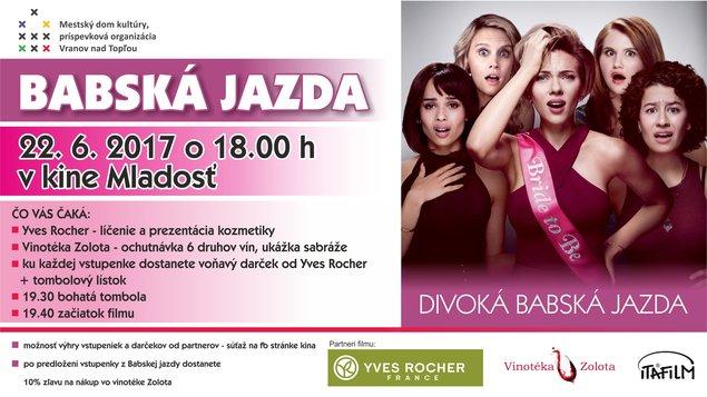 3926b0f3d Babská jazda: Divoká babská jazda – program a vstupenky online ...