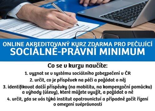 Sociálně-právní minimum - online seminář