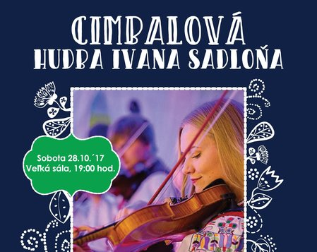 Cimbalová hudba Ivana Sadloňa