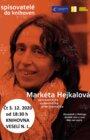 PŘELOŽENO NA JARO 2021 - Spisovatelé do knihoven - Markéta Hejkalová