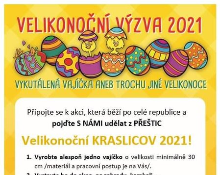 Velikonočnín kraslicov 2021