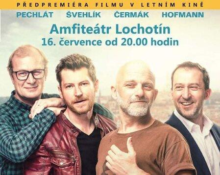 Prvok, Šampón, Tečka a Karel - předpremiéra filmu v letním kině