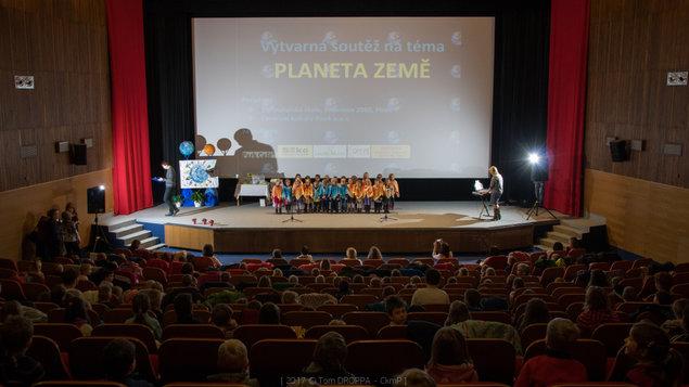 1.3.2017 ~ Výstava obrázků z výtvarné soutěže MŠ Planeta Země