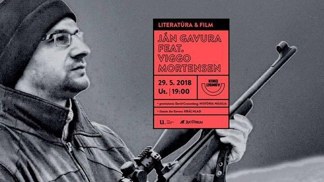 Literatúra a film: Ján Gavura feat. Viggo Mortensen