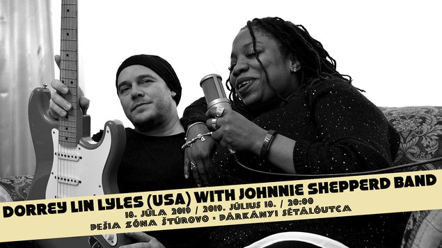 Dorrey Lin Lyles (USA) with Johnnie Shepperd Band, 18.07.2019
