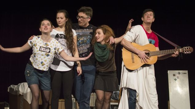 Staré řecké báje a pověsti - školní představení