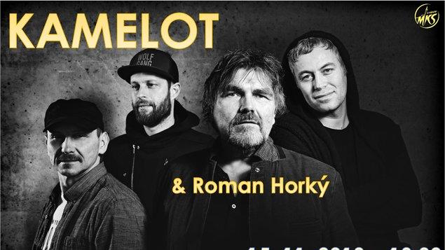 dc73c6283 Roman Horký a skupina Kamelot – program a vstupenky online | MKS Vyškov