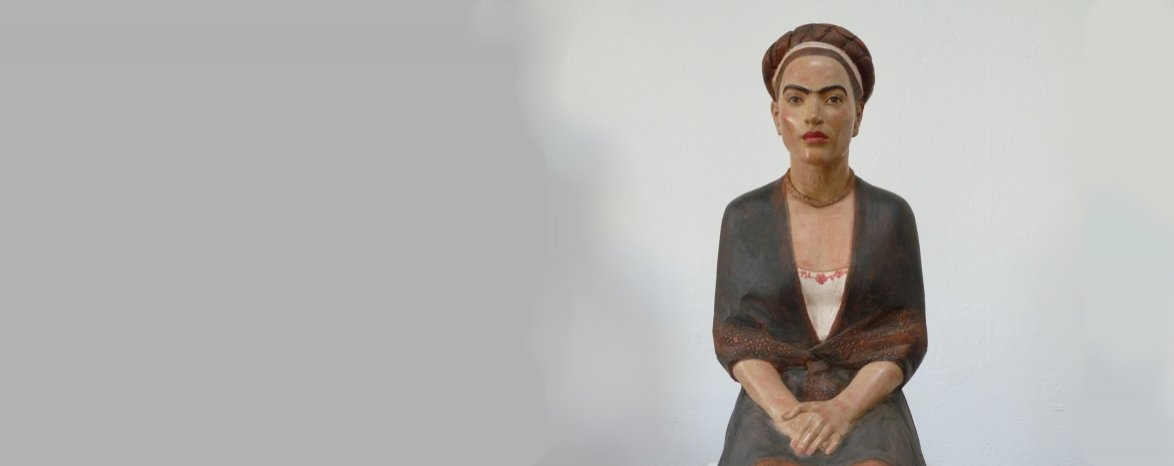 Výstava soch Ludmily Seefried-Matějkové