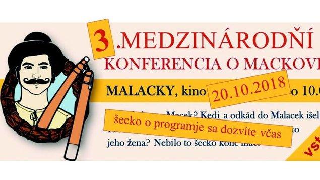 3. Medzinárodňí konferencia o Mackovi