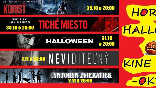 Hororový Halloween v kine Moskva: Neviditelný