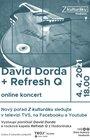 Z kulturáku: David Dorda + Refresh Q