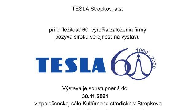 Tesla 60 rokov