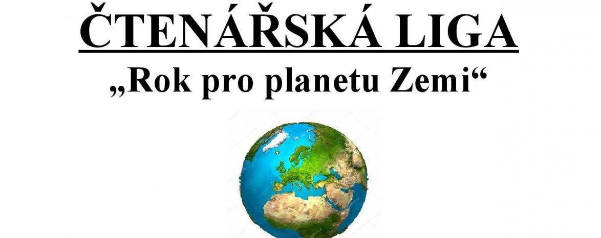 Čtenářská liga 2019/2020 - Rok pro planetu Zemi