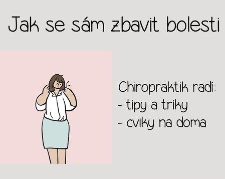 JAK SE SÁM ZBAVIT BOLESTI - přednáška v Sokolovně