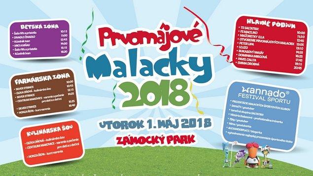 Prvomájové Malacky 2018