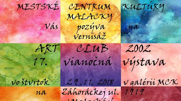 ART CLUB 2002: 17. vianočná výstava