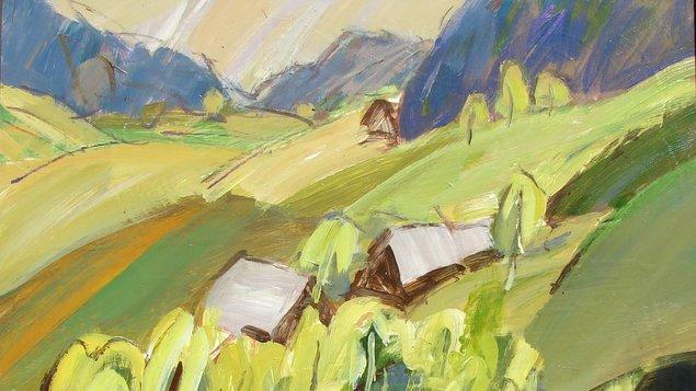 Róbert Haček: Život s paletou
