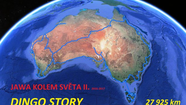 Jawa kolem světa II. - Austrálie, Tasmánie