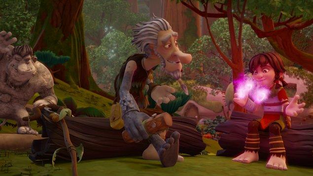 Trollové a kouzelný les / LETNÍ FILMOVÉ KINO V LÁZNÍCH