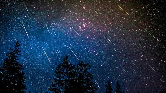 Pozorování meteorického roje Perseidy