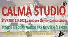 CALMA STUDIO - nábor nových členov 2021