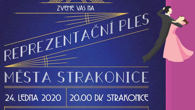 Reprezentační ples města Strakonice 2020