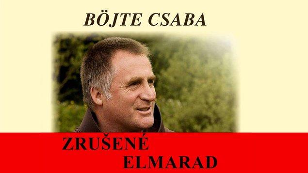 Böjte Csaba - elmarad!