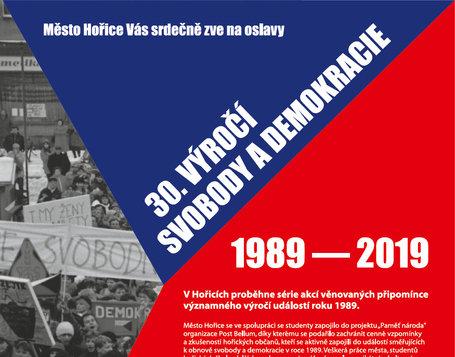30. let SVOBODY A DEMOKRACIE