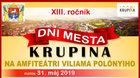 Dni Mesta Krupina 2019