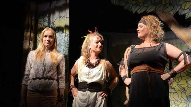 Divadelní představení: Dívčí válka