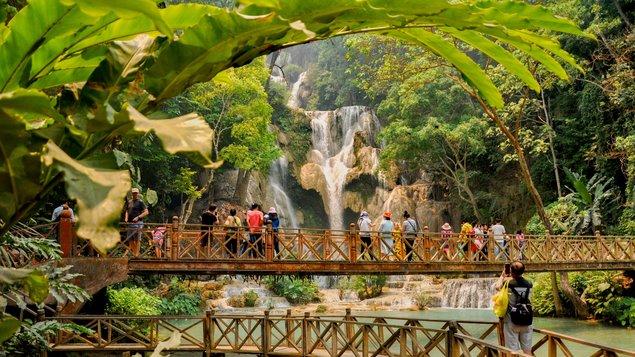 Laos – po proudu Mekongu