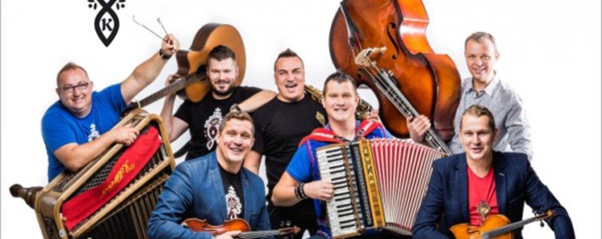 Koncert kapely Kollárovci