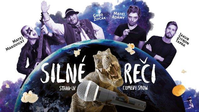 SILNÉ REČI - Stand-up comedy