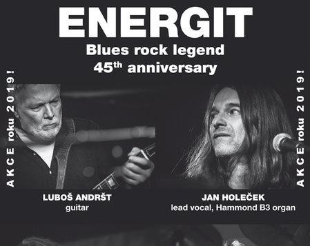 Energit - Blues rock legend - 45the anniversary