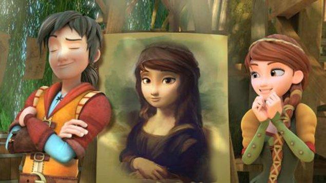 Leo da Vinci: Misia Mona Líza