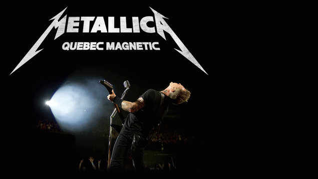 METALLICA Quebec Magnetic