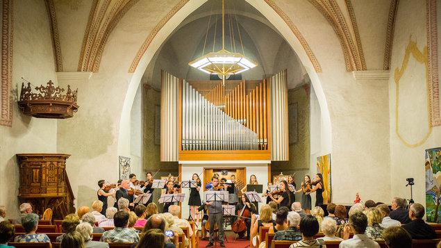 Závěrečný koncert XXXI. Mezinárodních letních kurzů