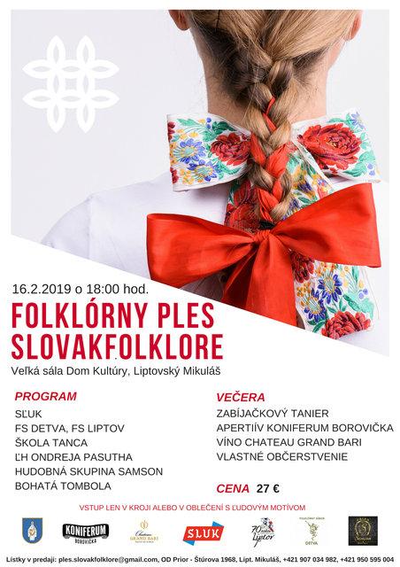 8c082eda146 FOLKLÓRNY PLES - SLOVAKFOLKLORE – program a vstupenky online