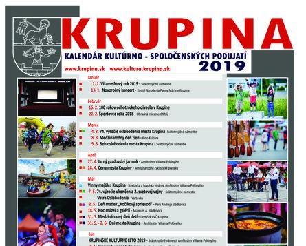 Kultúrne podujatia 2019