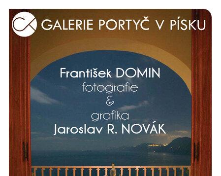 František Domin ~ fotografie a Jaroslav R. Novák ~ grafika
