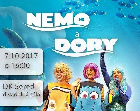 Nemo a Dory