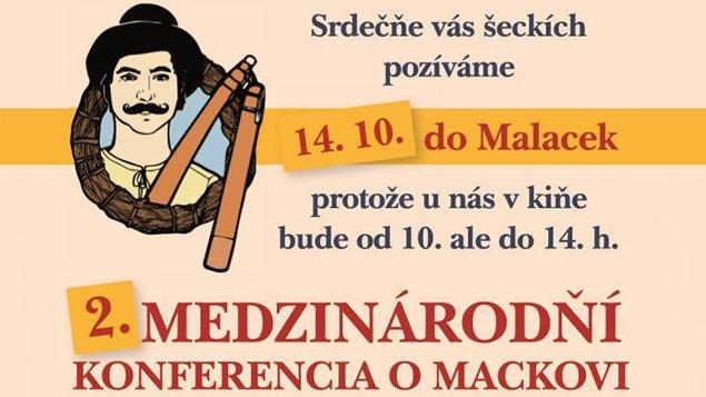 II. MEDZINÁRODŇÍ KONFERENCIA O MACKOVI