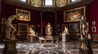 Florencie a galerie Uffizi