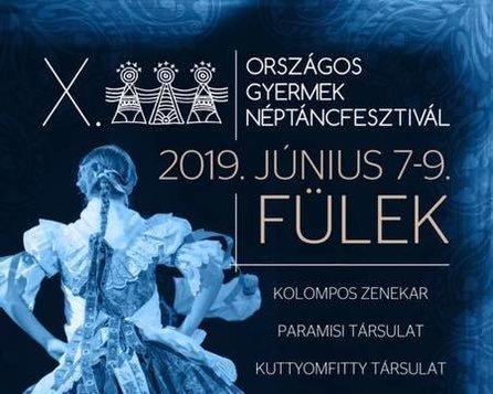 X. Eszterlánc - Celoštátna prehliadka detských folklórnych súborov
