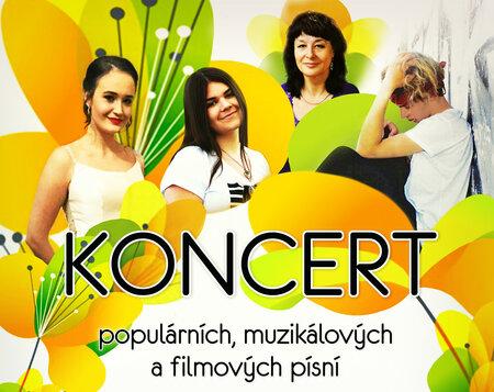 Koncert populárních,muzikálových a filmových melodií