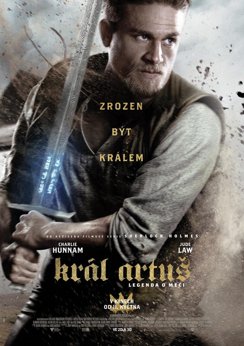 Výsledek obrázku pro artuš legenda o meči plakát