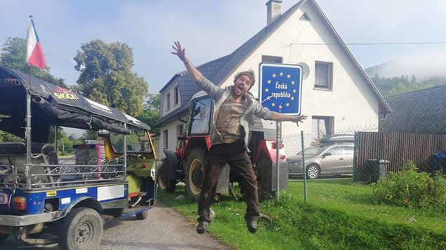 Tuktukem zThajska až na Moravu