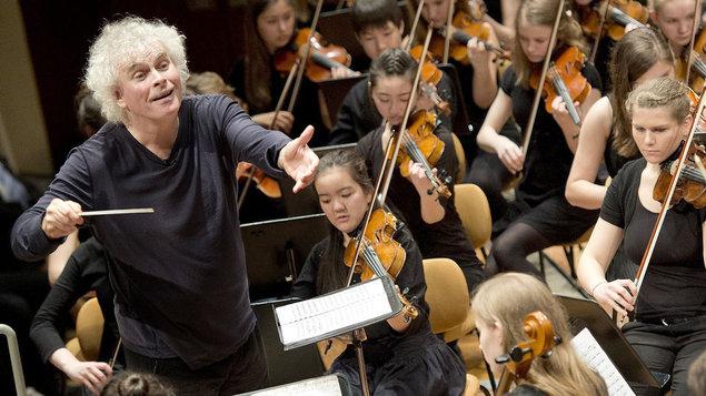 Rozloučení Sira Simona Rattla s Berlínskou filharmonií